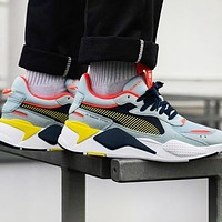 PUMA RS-X Reinvention Trending Women Men Casual Couple Sport Running Shoes Sneakers