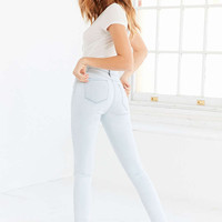BDG Twig High-Rise Skinny Jean - Bleached Blue - Urban Outfitters