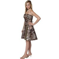Realtree ® Short Prom Dresses   Made in USA - Free Shipping