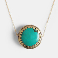 Eye Of The Storm Necklace By Vanessa Mooney - $84.00 : ThreadSence, Women's Indie & Bohemian Clothing, Dresses, & Accessories