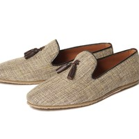 Corbert Beige ($150.00) - A tassel loafer is always a firm favourite with us at H, and this time our mens designer has given it a makeover for the warmer months. With a sleek silhouette, Corbert is constructed using a light linen fabric. Lined with a tan l