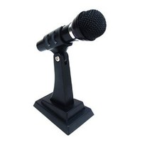 Frisby Stand Alone Microphone for PC Computer Laptop Notebook, VOIP, w/noise canceling