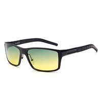 Aluminum Magnesium Sunglasses Polarized Men Professional Quality Glasses For Driving All Day