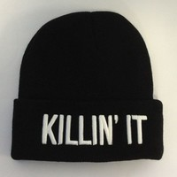 Killin It Beanie - Headwear - Beauty Forever - Brands - Paper Alligator