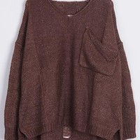 Cupshe Make the Cut Irregular Casual Sweater