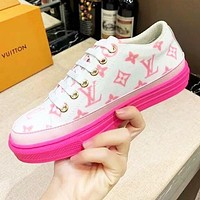 Louis Vuitton LV Fashionable Women Casual Sport Shoes Sneakers