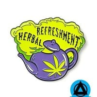 Clueless - Herbal Refreshment Pin