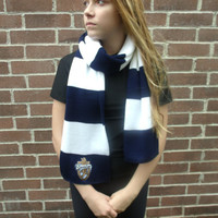 Harry Potter inspired ravenclaw scarf