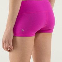 Lululemon Fashion Solid Color Gym Yoga Running Tight Shorts