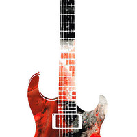 Electric Guitar - Buy Colorful Abstract Musical Instrument