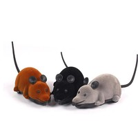 Interesting Funny Cat Dog Toys Remote Control Simulation Mouse Kids Toys Ears Random Color
