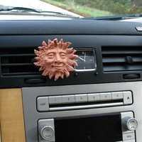 No. 010 Air Head car air freshener with your choice of fragrance