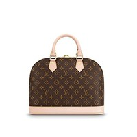 Alma Style Monogram PM with Strap Elbow Crossbody Shoulder Bag for Women Perfect to Hold Cash, Cards, Checkbook, Keys, Make up, Phone etc, Perfect for Women and Girls