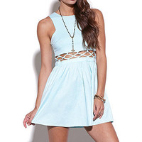 Nameless Caged Mid Section Dress at PacSun.com
