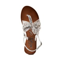 Womens Naughty Monkey Sweet Cakes Sandal, Silver, at Journeys Shoes