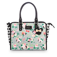 Minnie Mouse Floral Tote Bag by Loungefly