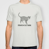 Proud cat mom T-shirt by sophiafashion