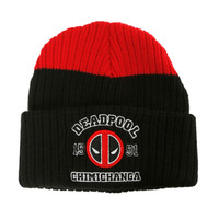 Marvel Deadpool Chimichanga Watchman Beanie