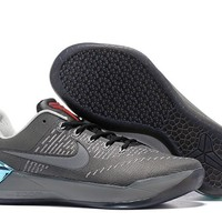 hcxx N268 Nike Zoom Kobe 12 A.D EP Actual Combat Basketball Shoes Grey