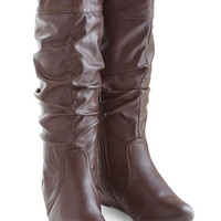 ModCloth Toffee Date Boot in Chocolate