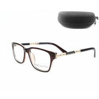 DCCK7HE Perfect LV Women Edgy Optical Clear Lens Fashion Brand Designer Eyeglasses Glasses