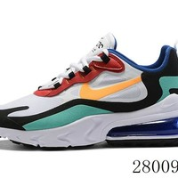 HCXX 19July 951 Nike Air Max 270 React AO4971-002 Bauhuas Running Shoes