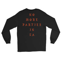 No More Parties In LA The Life Of Pablo Shirt - Kanye style - concert Shirt Los Angeles shirt