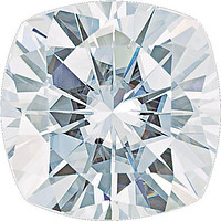 Cushion Cut Forever One™ Moissanite Gemstone - Colorless (D-E-F)