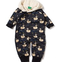 Night Swimming Snowsuit by Little Green Radicals