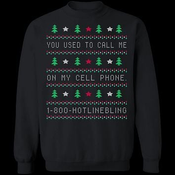 Hotlinebling Ugly Christmas Sweater