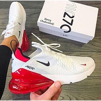 Nike Air Max 270 University Red Sneakers Shoes
