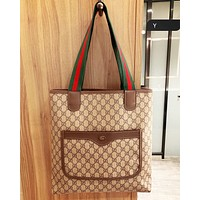 Gucci shoulder bag crossbody bag shopping bag Apply for bulk download bronze