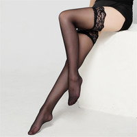 2017 Women's Long Over Knee Stocking Nylon Lace Sexy Stockings Fishnet Mesh Stockings Thigh Knee High Sexy Lingerie Stockings