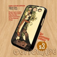 calvin and hobbes - Print On Hard Case Samsung Galaxy S3 i9300