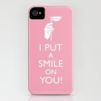 I Put a Smile on You iPhone Case by PetekDesign | Society6