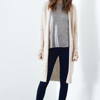 Jumpers & Cardigans   Pink FLUFFY LONG CARDI   Warehouse