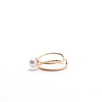 One For You Pearl Ring - Gold