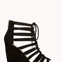 Lovely Lace-Up Sandals