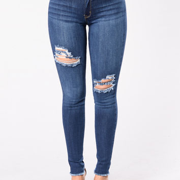Made For You Jeans - Dark Wash