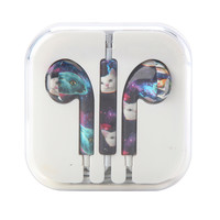 MiCase Cats In Space Print Earbuds
