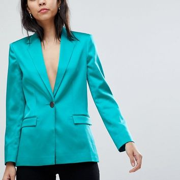 ASOS DESIGN tailored cocktail blazer at asos.com