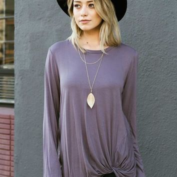 Addicted to Love Knotted Tunic