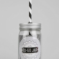 Mason Jar To-Go Sipper Cup