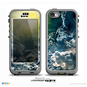 The Bright Sun Over Cloud-Magic Skin for the iPhone 5c nüüd LifeProof Case