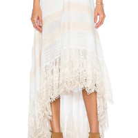 Spell & The Gypsy Collective Peasant Girl Wrap Skirt in White