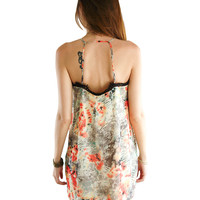 Running WIld Lace Trimmed Dress