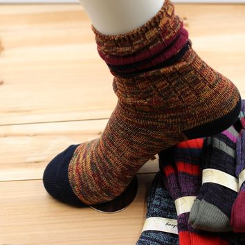 Winter Vintage Socks 5 pcs/set [47784067079]