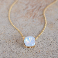 Hannah Necklace - Opal