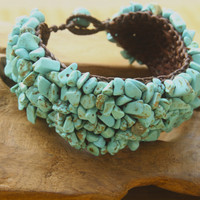 11135 Truth of Turquoise Cuff Bracelet*