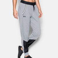 Women's UA Favorite French Terry Warm Up Pant   Under Armour US